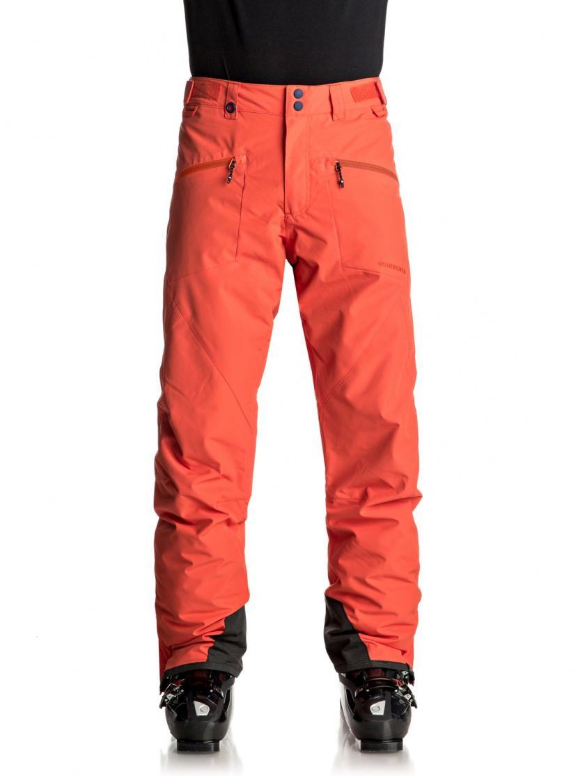 Pantalones De Snow Pantalones De Snow Hombre Rojo Quiksilver Boundry Pantalones Para Nieve Mandarin Red Nms0 Naturee